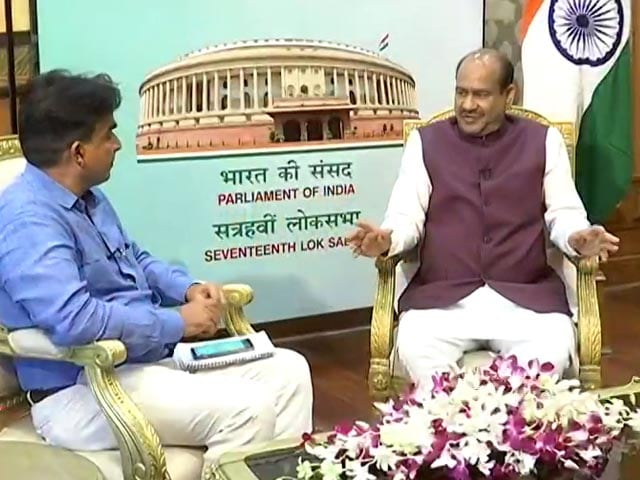 Video : Lok Sabha Speaker Talks To NDTV On Central Vista Project
