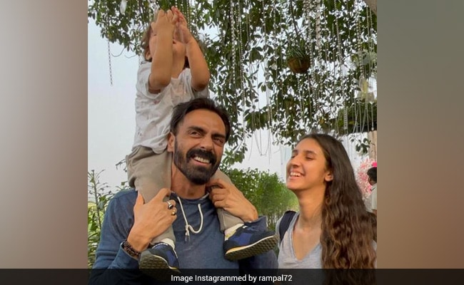 How Arjun Rampal And Mehr Jesia Wished Daughter Myra On Her 16th Birthday