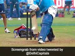 """Watch: DC Ask To """"Guess The Star"""" In Video Of Batsman Taking Stance"""