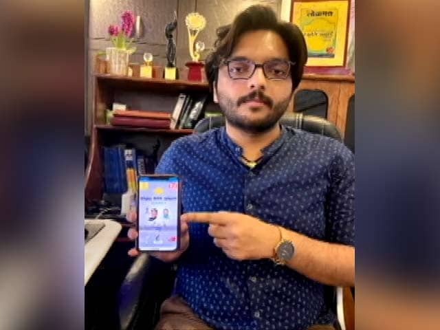 Video : 22-Year-Old Designs App To Fight COVID-19 In Rajasthan