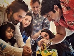 Varun Dhawan Celebrates Niece's 3rd Birthday At Home With Family