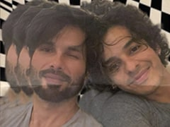 """<I>Kaun Bandar?</i>"": Ishaan Khatter Misreads Shahid Kapoor's Filmy Caption And Cracks Up Instagram"