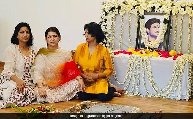 Sushant Singh Rajput's Sister Priyanka Shares Pic From His Prayer Meet