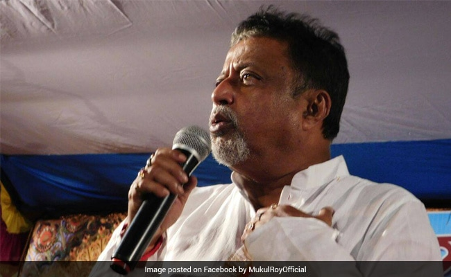 Mukul Roy's Move Makes No Difference, He Should Quit As MLA: BJP