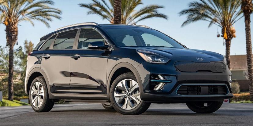 The Niro shares its drivetrain with the Hyundai Kona