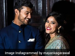 Mayank Agarwal Shares Picture With Wife Aashita Sood On 3rd Wedding Anniversary