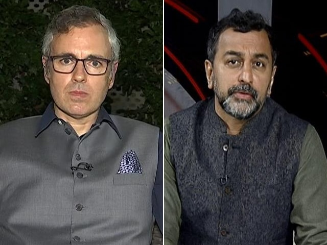 """Video : """"I Am Not The Sort Of Person Who Lives In The Past"""": Omar Abdullah"""