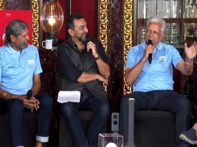 Video : 1983 World Cup Winners Mohinder Amarnath, Kris Srikkanth Showcase Their Singing Skills