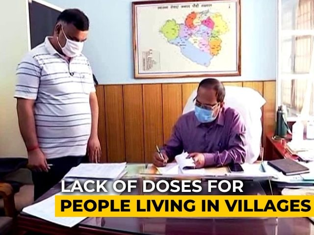 Video : Vaccination Drive Slows Down In Uttarakhand