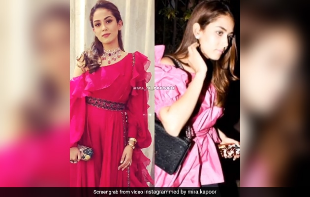 Which Is Your Favourite Of Mira Rajput's Many Looks In Her Post? We Love Them All