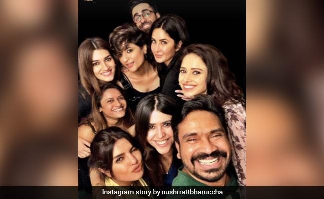 Priyanka Chopra To Katrina Kaif: Count The Stars In This Throwback Pic. Courtesy Nushratt Bharuccha