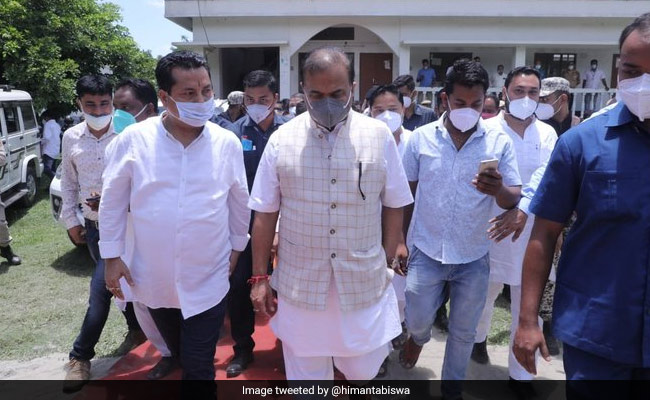 Assam Chief Minister Visits Rape And Murder Victim's Family, Assures Justice