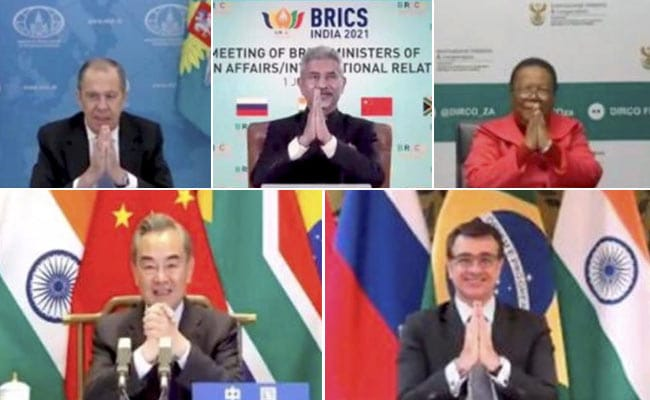 BRICS Foreign Ministers Hold Virtual Meeting, Discuss COVID-19 Challenge