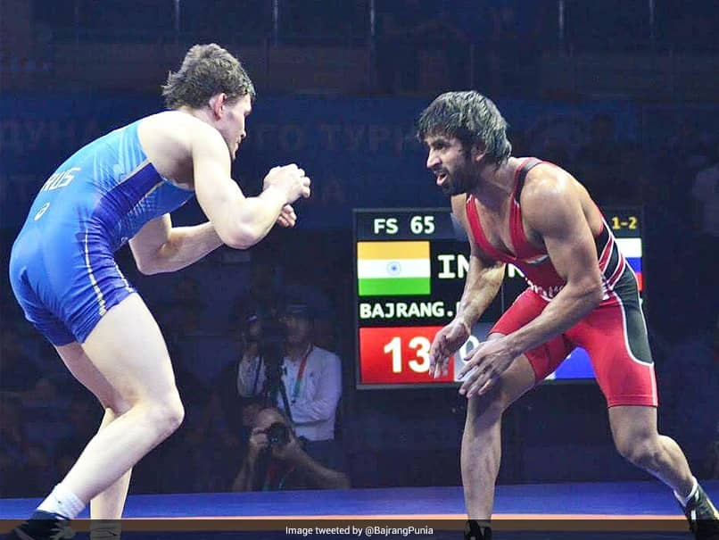 Injury Scare For Bajrang Punia Ahead Of Tokyo Olympics