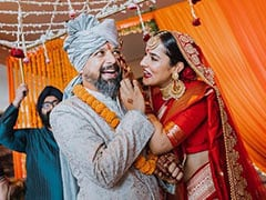 More Pics From <i>Go Goa Gone</i> Actor Anand Tiwari And Angira Dhar's Wedding