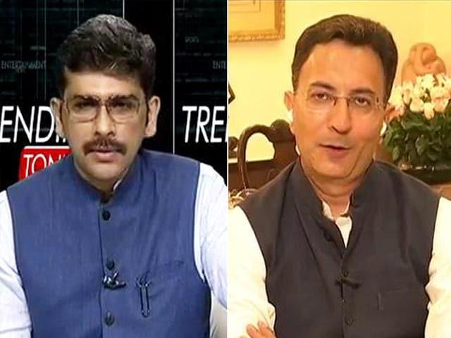 "Video : ""What About Alliance With Sena?"" Jitin Prasada Hits Back At Kapil Sibal"