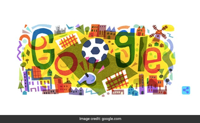 UEFA Euro 2020: Google's Colourful Doodle Sets The Ball Rolling