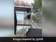 Fire Breaks Out At Building Near Delhi's Safdarjung Airport