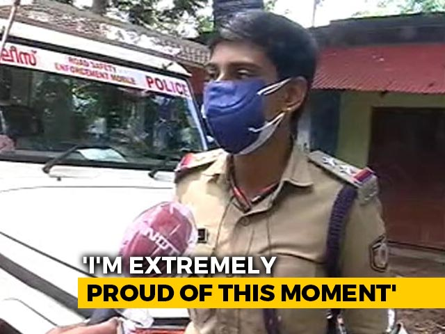 Video : Kerala Woman Who Once Sold Lemonade, Ice Cream For A Living Is Now A Cop