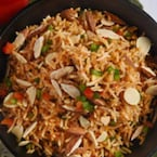 How To Make Quick And Easy Almond Fried Rice In Just 15 Minutes