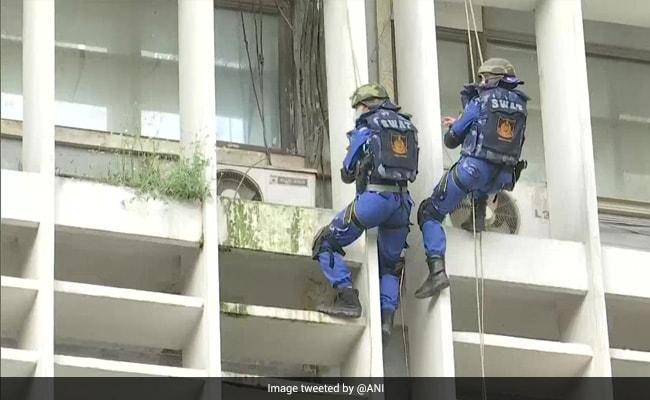 Delhi Police Conducts Mock Anti-Terror Drills At Three Locations