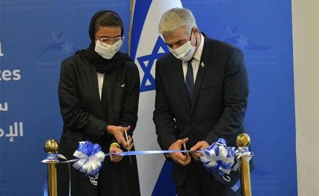 On UAE Trip, Yair Lapid Opens First Israeli Embassy In Gulf
