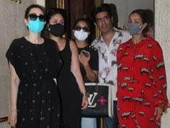 From Malaika Arora's Tracksuit To Karisma Kapoor's Dress, It's A Print Party For The Girl Gang