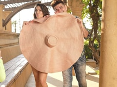 Behind-The-Scenes Of Sunny Leone's Shoot For Dabboo Ratnani's 2021 Calendar