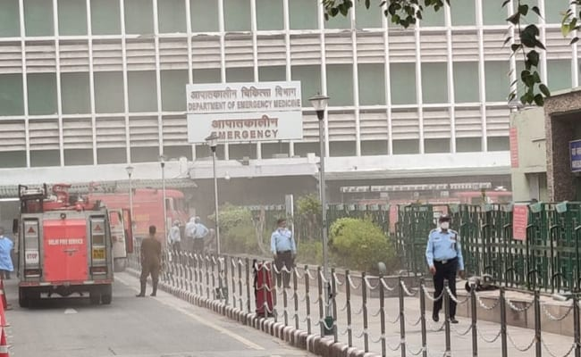Minor Fire At Emergency Ward Of Delhi's AIIMS, No Injuries Reported