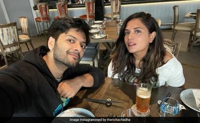 'Ali Fazal Has Really Upped His Game,' Writes Richa Chadha In Boyfriend Appreciation Post