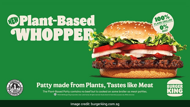 Burger King Singapore Joins Vegan Trend - Launches Plant-Based Whopper