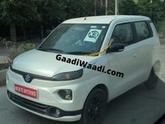 Wagon R Based Electric Hatchback Spotted With Suzuki Logo