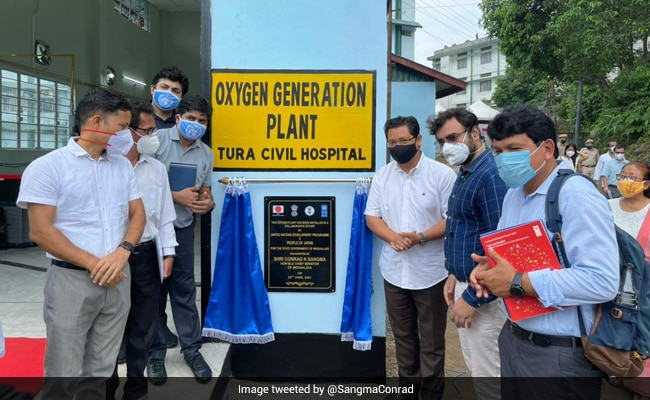 'Momentous Occasion': Meghalaya Chief Minister Launches 3 Oxygen Plants