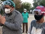 Video : Meet Delhi's 'Ambulance Couple' Helping Over 1,000 COVID-19 Patients