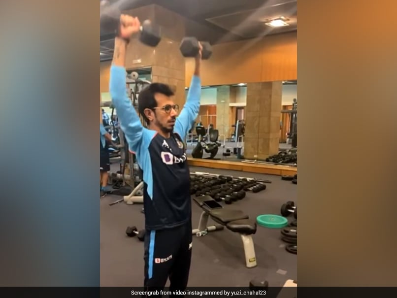"""""""Will Be Looking Like Salman Khan"""": Ex-England Pacer On Yuzvendra Chahals Workout Video"""