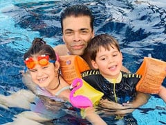 """Father's Day 2021: In Powerful Post, Karan Johar Writes About """"Teaching Inclusivity"""" To Yash And Roohi"""