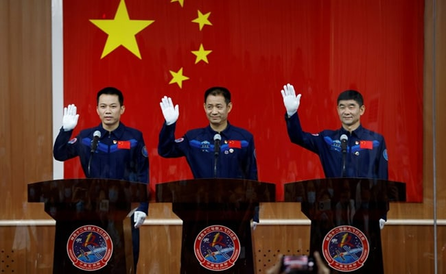 China To Launch First Crew To New Space Station On Thursday