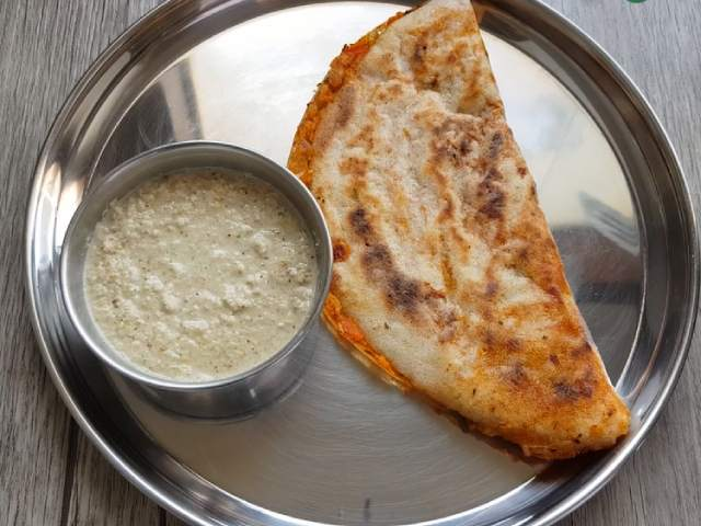 Video : How To Make Pav Bhaji Dosa | Easy Pav Bhaji Dosa Recipe Video