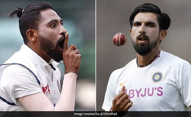 WTC Final 2021 IND vs NZ Ishant Sharma vs Mohammed Siraj, Last 5 Test Matches stats and records