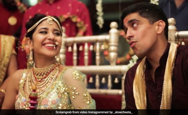 Mirzapur Actress Shweta Tripathi And Chaitanya's Wedding Video Was 'Made In Heaven'