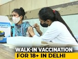 Video : Delhi Vaccinated Over 1 lakh Beneficiaries On June 23