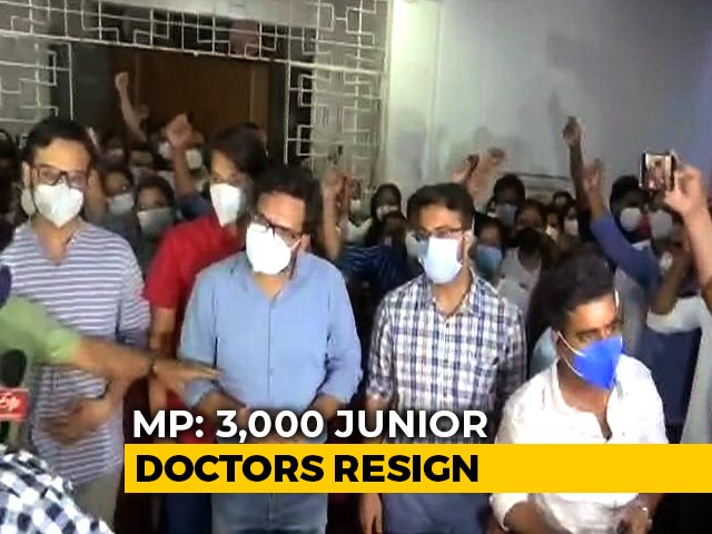 """Video : Nearly 3,000 Madhya Pradesh Doctors Resign After Court Says Strike """"Illegal"""""""