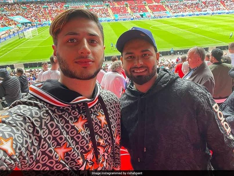 EURO 2020: Rishabh Pant Spotted At Wembley Stadium During England-Germany Match, Says,