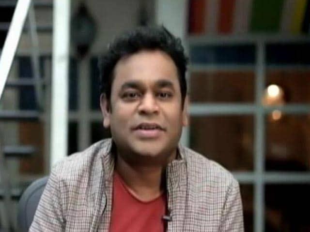 Video : AR Rahman On Working With Lyricist Gulzar