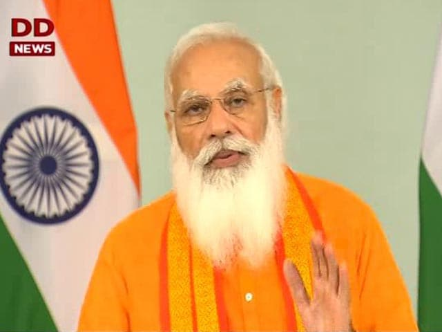 """Video : """"Yoga A Source Of Strength. When Covid Emerged, No Country Was Ready"""": PM"""