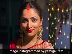 From Red <i>Sarees</i> To Sunny <i>Salwars</i>, Yami Gautam's Traditional Wedding Trousseau Is A Bridal Dream