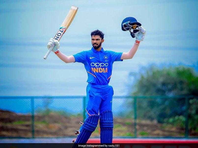 "Sri Lanka vs India: Ruturaj Gaikwad Feeling ""Pretty Emotional"" After Maiden India Call-Up"