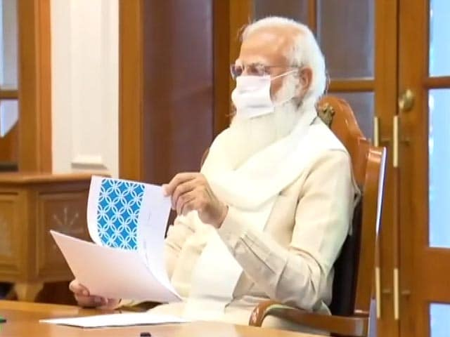 Video : PM Modi Holds Key Meeting On Class 12 Board Exams