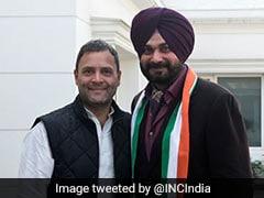 Navjot Sidhu Meets Rahul Gandhi In Delhi Amid Punjab Congress Infighting