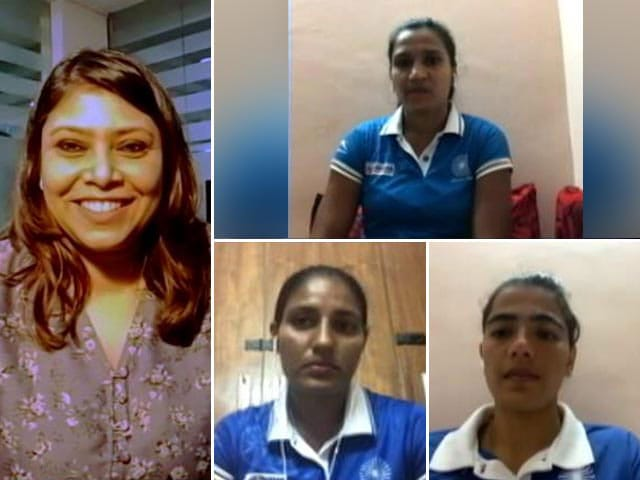 Video : Indian Women's Hockey Team Looks For Podium Finish In Tokyo